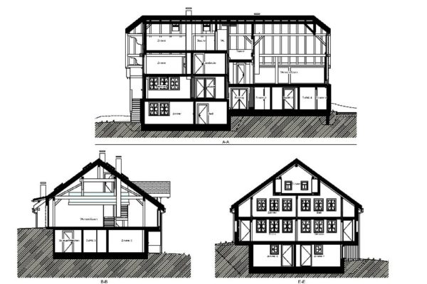 Old farmhouse – Gsteig