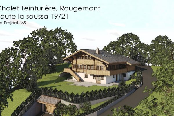 Luxury chalet Rougemont